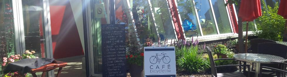 Cafe Bicyclette, Campus Saint-Jean. Image Credit University of Alberta